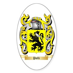 Polli Sticker (Oval 50 pk)