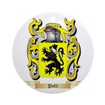 Polli Round Ornament