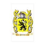 Polley Sticker (Rectangle 10 pk)