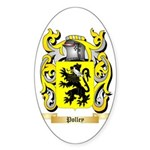 Polley Sticker (Oval 50 pk)