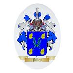 Pollett Oval Ornament
