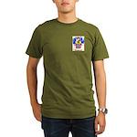Polky Organic Men's T-Shirt (dark)