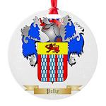 Polky Round Ornament