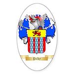 Polky Sticker (Oval 50 pk)