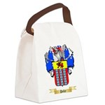 Polky Canvas Lunch Bag