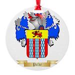 Polke Round Ornament