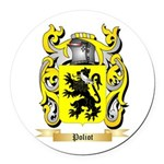 Poliot Round Car Magnet