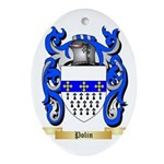 Polin Oval Ornament