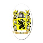 Poliet 20x12 Oval Wall Decal