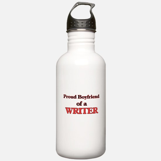 Proud Boyfriend of a F Water Bottle