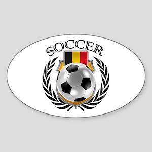 Belgium Soccer Fan Sticker