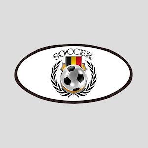 Belgium Soccer Fan Patch