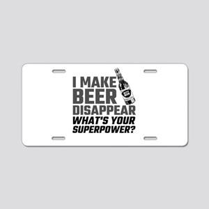 I Make Beer Disappear, What Aluminum License Plate