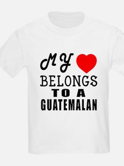 I Love Guatemalan T-Shirt