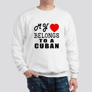 I Love Cuban Sweatshirt