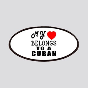 I Love Cuban Patch