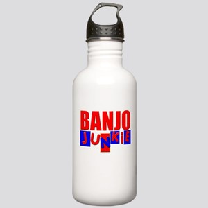 Funny Banjo Water Bottle