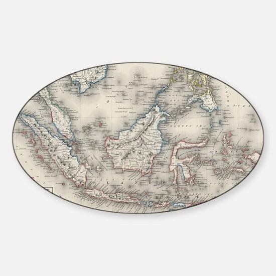 Cute Indonesia Sticker (Oval)