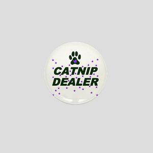 CATNIP DEALER Mini Button