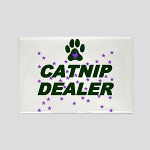 CATNIP DEALER Rectangle Magnet
