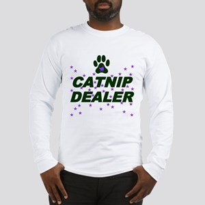 CATNIP DEALER Long Sleeve T-Shirt