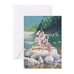 Shiva & Parvati Cards (Pk of 10)