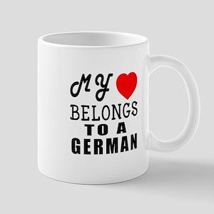 I Love German Mug