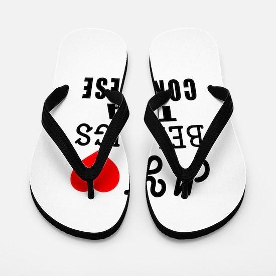 I Love Congolese Flip Flops
