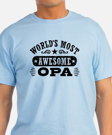 World's Most Awesome Opa T-Shirt