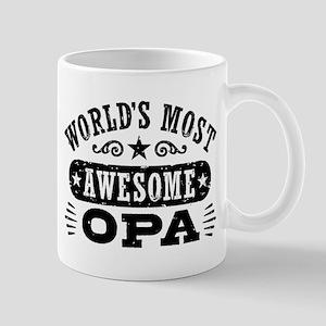 World's Most Awesome Opa Mug