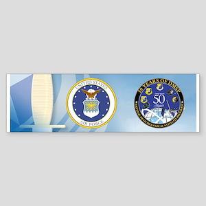 DMSP at 50! Sticker (Bumper)