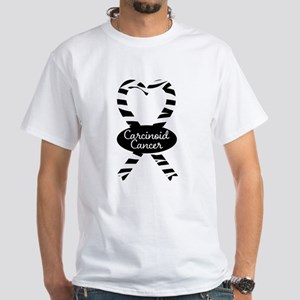 Carcinoid Cancer heart ribbon T-Shirt