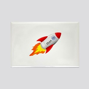 Rocket Man Anesthesia Rocket Magnets