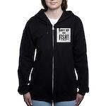 Shut Up And Fish_1 Women's Zip Hoodie