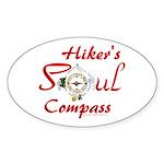 Hiker's Soul Compass Sticker