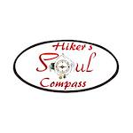 Hiker's Soul Compass Patch