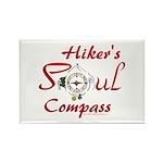 Hiker's Soul Compass Magnets