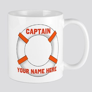 Custom Captain Mugs