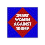 Smart Women Against Trump Sticker