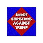 Smart Christians Against Trump Sticker