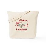 Hiker's Soul Compass Tote Bag