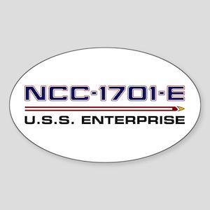 U.S.S. Enterprise-E Registry - Special Edi Sticker