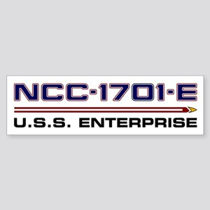 U.S.S. Enterprise-E Registry - Spec Bumper Sticker