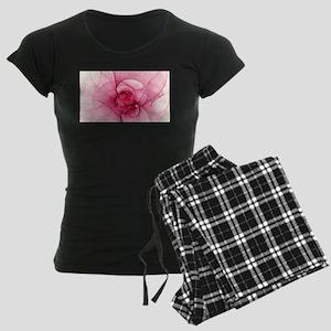 Fractal Art Women's Dark Pajamas
