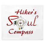 Hiker's Soul Compass King Duvet