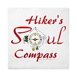 Hiker's Soul Compass Queen Duvet