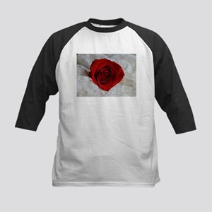 Wonderful Red Rose Baseball Jersey
