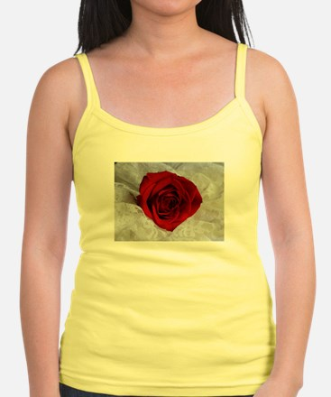 Wonderful Red Rose Tank Top