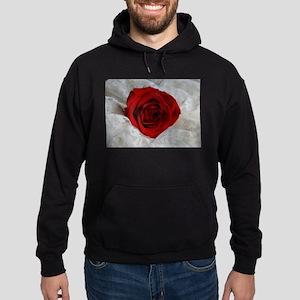 Wonderful Red Rose Hoodie (dark)