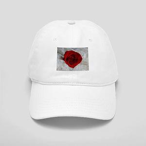 Wonderful Red Rose Cap